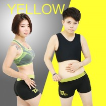 【T-STUDIO】透氣無痕內褲-黃