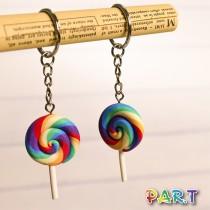 【PAR.T】彩虹棒棒糖鑰匙圈(1入)