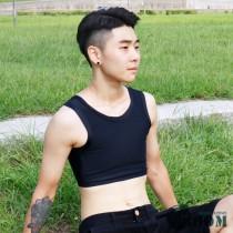 【BOOM】台灣代理香港品牌/升級加強款/粘貼半身束胸內衣(黑)