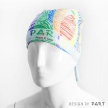 【PAR.T】彩虹商品-魔術頭巾(線條)