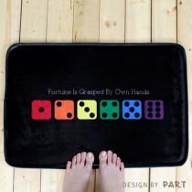 【PAR.T】彩虹商品-六彩骰子地墊