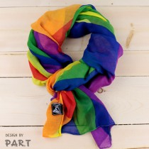 【PAR.T】彩虹商品-六色彩虹大圍巾
