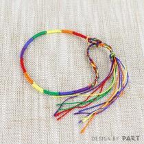 【PAR.T】彩虹商品-六色衝浪細繩