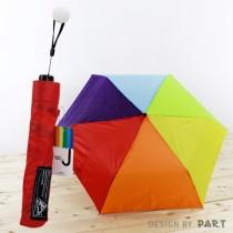 【PAR.T】彩虹商品-六彩雨傘(紅)