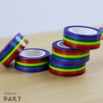 【PAR.T】彩虹商品-紙膠帶(10M)