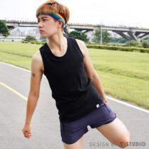 【T-STUDIO】CHUME系列/可外穿式吊嘎束胸內衣(滾邊黑)