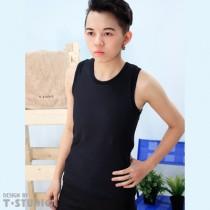 【T-STUDIO】寬版隱形側拉束胸泳衣/單件銷售(黑)