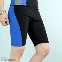 【T-STUDIO】拉繩泳褲/中性撞色/單件銷售