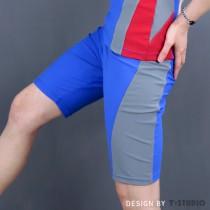 【T-STUDIO】拉繩泳褲/美國隊長限量版/單件銷售