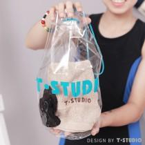 【T-STUDIO】PVC防水束口袋